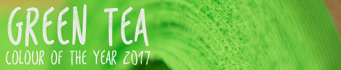Green Tea - Acoustic Cloth in the Colour of the Year 2017. Also available as water-repellent, stain-