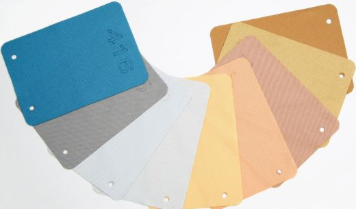 Set of Metallic Line Acoustic Cloth Sample Swatches