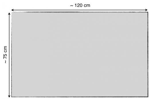 "Metallic Line Acoustic Speaker Cloth • 120 x 80 cm (47.2"" x 31.5"")"